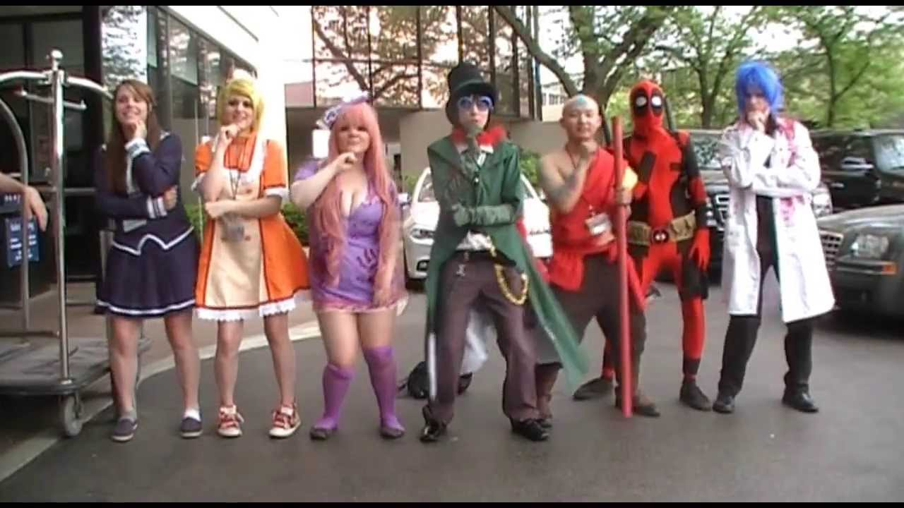 gentleman psy parody anime cosplay youtube