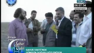 GÜNEŞİN DOĞUŞ VAKTi - KONYA TV