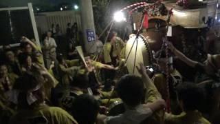 2017年7月14日 三重県四日市市 聖武天皇社前.