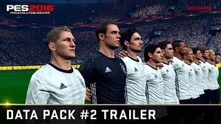 official pes 2016 data pack 2 trailer
