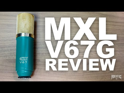 MXL V67G Large Capsule Condenser Mic Review / Test