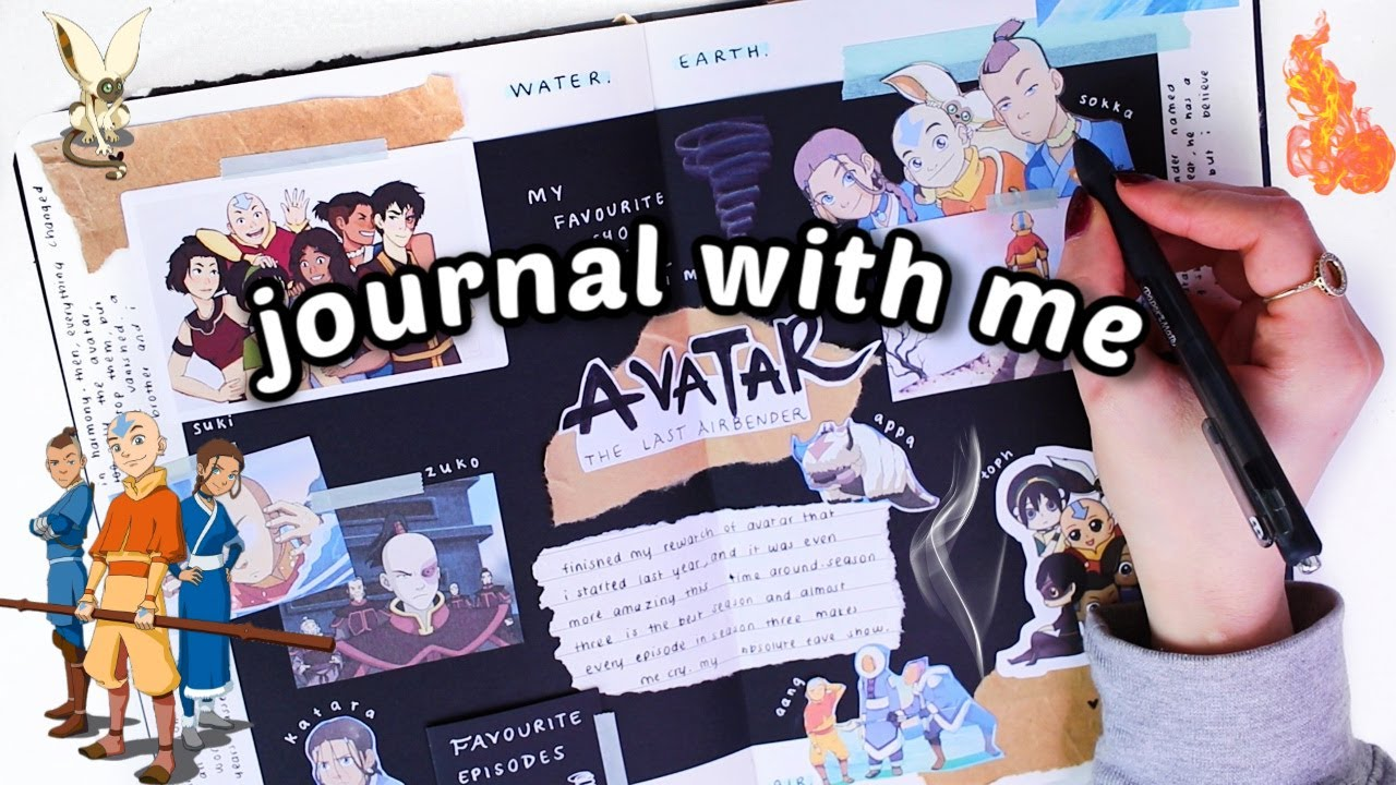 journal with me | AVATAR: THE LAST AIRBENDER