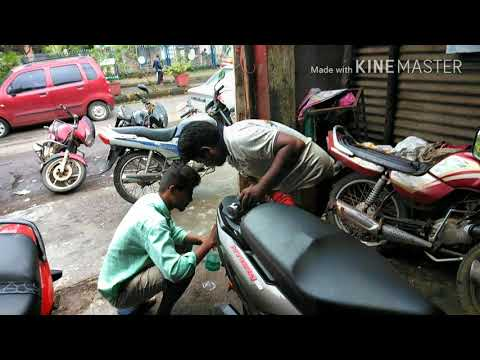 How to clean petrol tank of TVS Ntorq 125