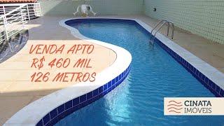 Apartamento á venda no Bessa com 126 m², R$ 460 mil
