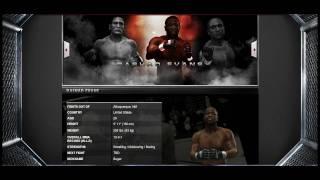 RASHAD EVANS UFC UNDISPUTED 2009