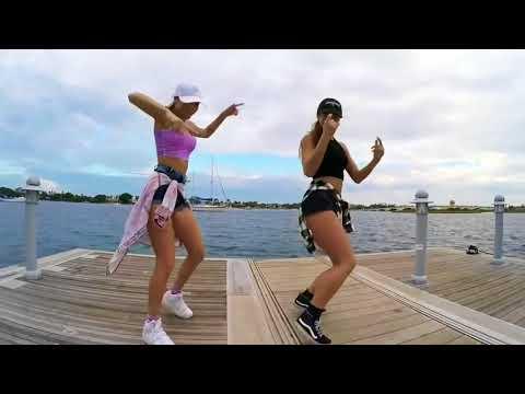 Chicas bailando shuffle dance faded