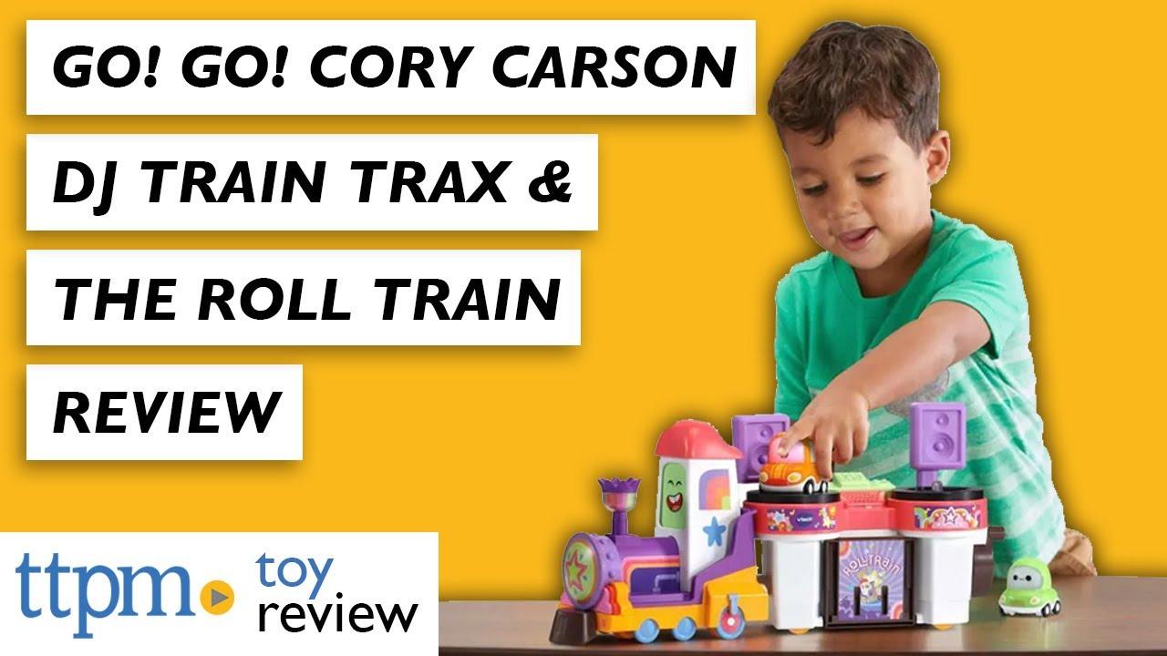 Go! Go! Cory Carson DJ Train Trax & the Roll Train from VTech