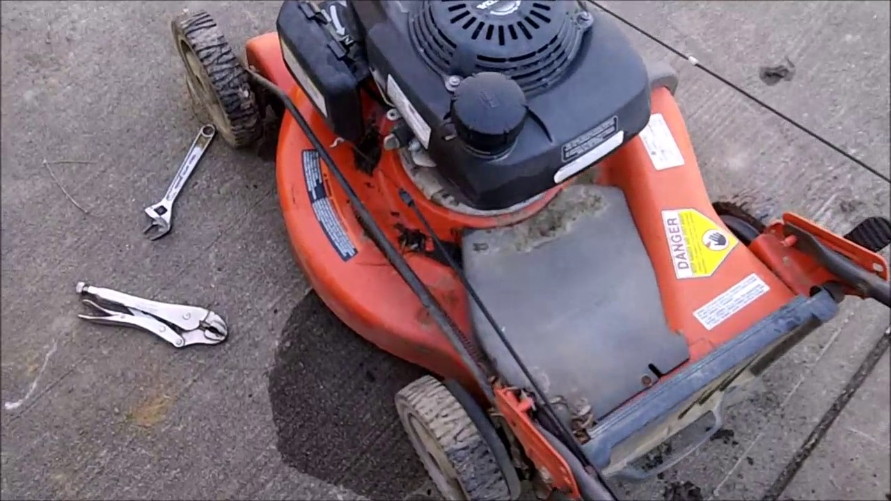hight resolution of husqvarna 7021r mower fix
