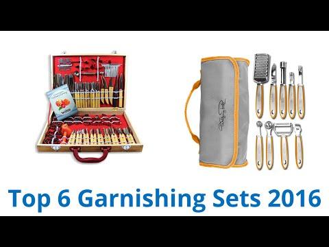 6 Best Garnishing Sets 2016