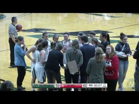 HU Women's Basketball vs. Indiana Wesleyan University -- 12.2.17
