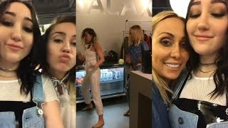 Noah Cyrus & Miley Cyrus | Instagram Live Stream | 13 May 2017 [Celebrate Tish Cyrus's Birthday]