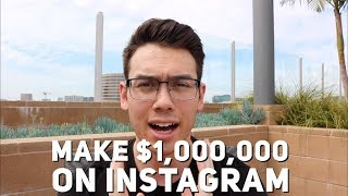 How To Generate One MILLION Dollars In Sales Using INSTAGRAM