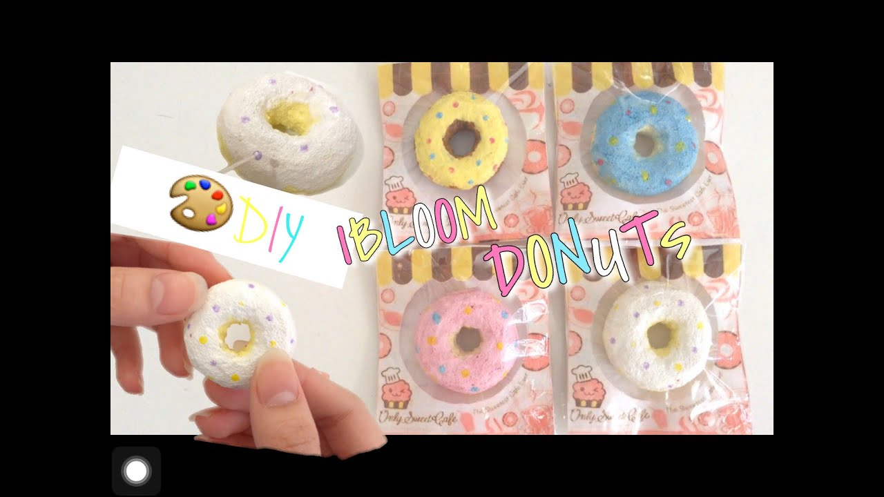 iBloom Donut Squishy Tutorial II How To Make iBloom Donut Squishy - YouTube