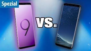 Galaxy S9 oder Galaxy S8 - Was lohnt sich mehr?
