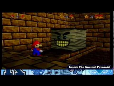 Super Mario 64: Shifting Sand Land - Inside The Ancient Pyramid