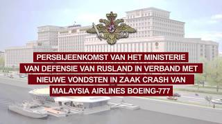 Ministerie van defensie van Rusland briefing MH-17