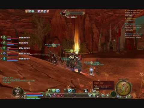 AION IN GAME COMBAT