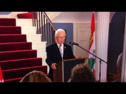 The Honourable H. Frank Lewis, Lieutenant Governor, Prince Edward Island, Canada presents Positivit