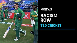 De Kock misses T20 world cup after refusing to take a knee | ABC News