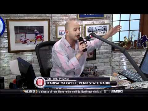 Craig Carton gives Penn State Student a verbal beat down