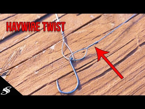 Kingfish Rig: How To Tie The HAYWIRE Twist
