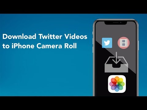 Download Twitter Videos To IPhone Camera Roll (iOS 12)