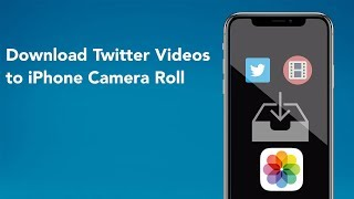 Gambar cover Download Twitter Videos to iPhone Camera Roll (iOS 12)
