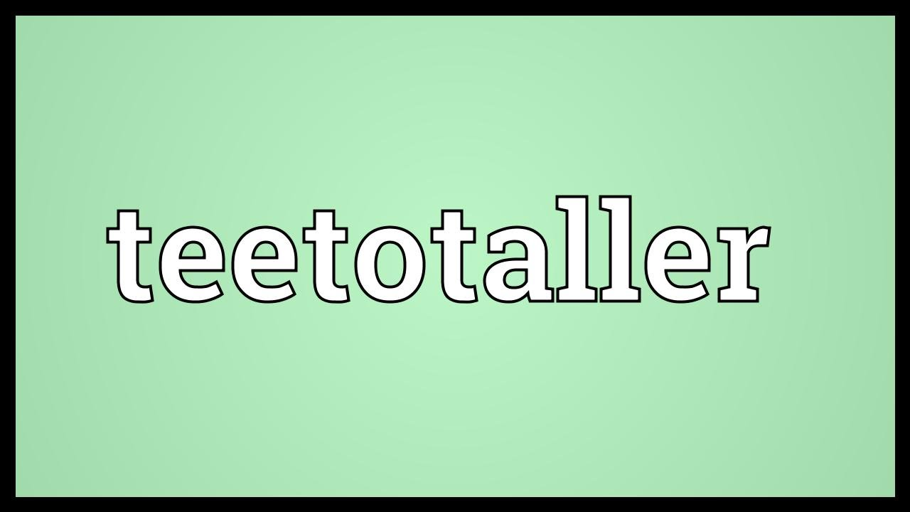Image result for Images for a teetotaller
