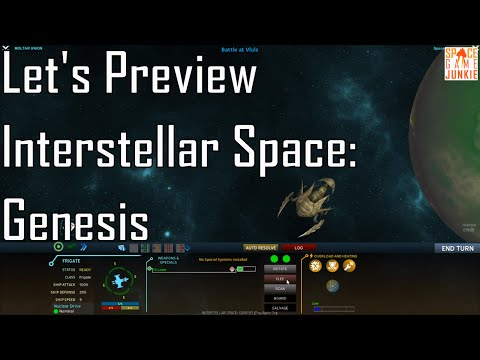 Interstellar Space: Genesis - A New Adventure - Let's Preview