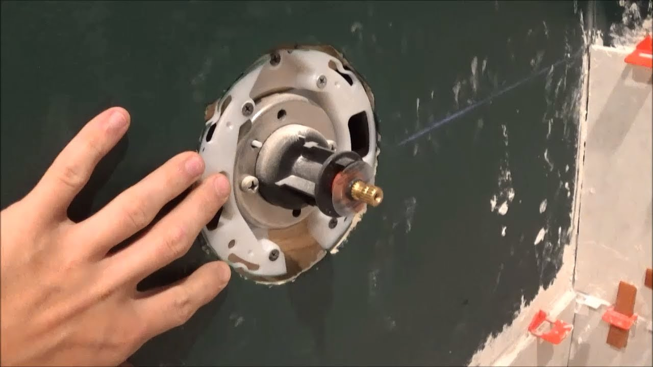 Installing KOHLER K-304-K-NA Rite-Temp Pressure Balancing Shower ...