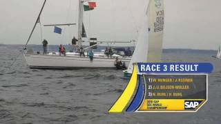 Highlights Race Day 2 - The 2010 SAP 5O5 World Championship