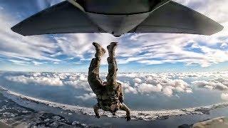 Special Tactics Operators Fall From Plane