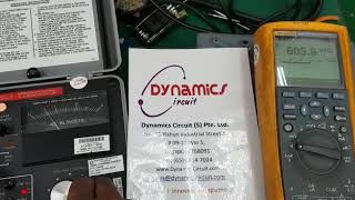 Biddle 4 kV AC and AC/DC Hipot Tester Repairs by Dynamics Circuit (S) Pte. Ltd.