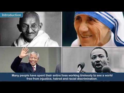 Beacons of Peace | Life and Teachings of Mahatma Gandhi, Martin Luther King Jr., Mother Teresa