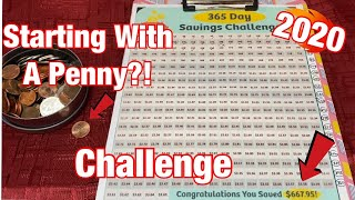 2020 Savings Challenge | Starting With Just A Penny 2020 | Week 7