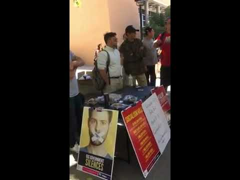 Turning Point USA at UNM and Protesters 9/21/2017