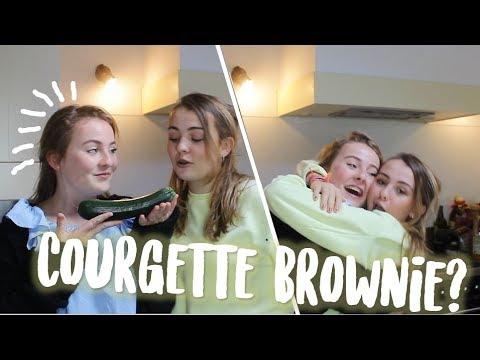 ONTMOET MIJN TWEELINGZUS! Brownie met courgette? - EVI HEEMSKERK