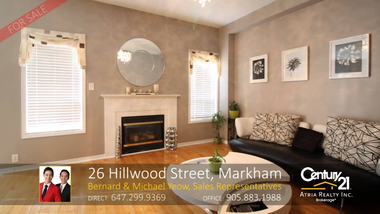 26 hillwood street markham home for sale by the yeow team sales representatives
