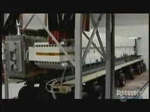 Demonstration of the Navy Electromagnetic Rail Gun prototype
