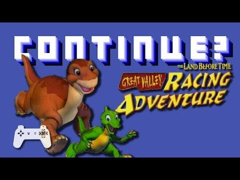 The Land Before Time Great Valley Racing Adventure (PS1) - Continue