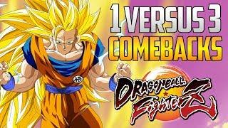 DBFZ ▰ Amazing 1v3 Comebacks Volume 3 【Dragon Ball FighterZ】