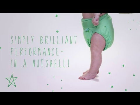 The PeeNut - A Simple Reusable Nappy System From TotsBots!