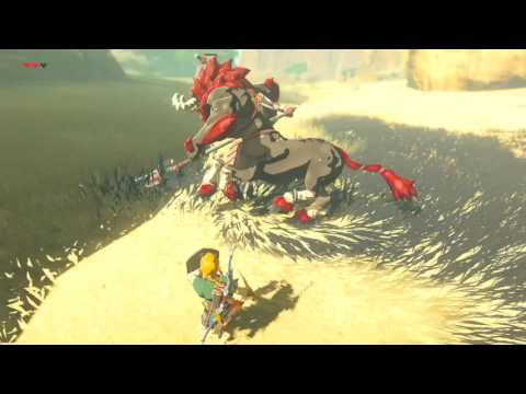 Zelda Breath of the Wild - Red Lynel Annihilation