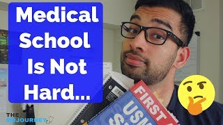 How Hard is Medical School? (Not What'd You Expect)
