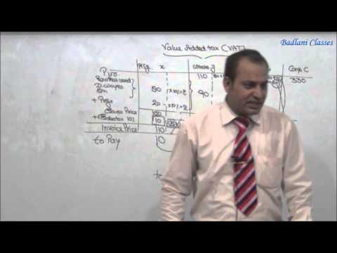 CA - IPCC - VAT - AY 14-15 - Lecture 1