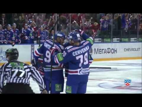 SKA - KHL Medvescak Zagreb 3:0 16.09.2013