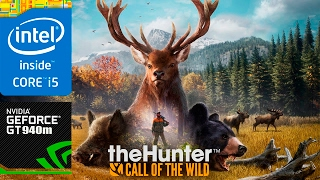 thehunter call of the wild geforce 940m 2gb gaming asus r556l