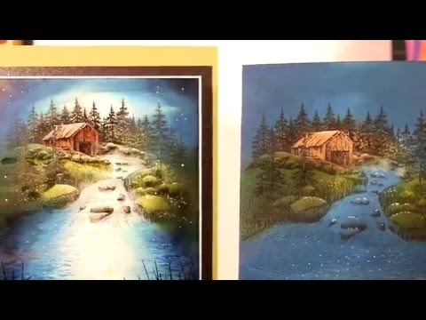 Stampscapes 101: Video 132.  Shading and Highlighting