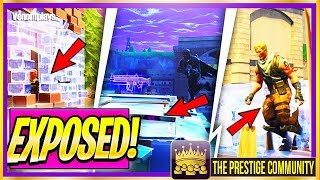 🤬 5 NEW SCAM GLITCHES EXPOSED!! ..... (Ps4/Xbox One/PC) [Fortnite Top 5 Best Glitches September 2018]