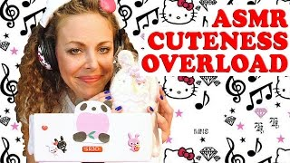 Cute Girly Stuff ASMR – Binaural SR3D Whispering Unboxing a Kawaii Box